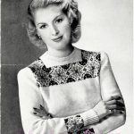 Fairisle Knitting Patterns Free Free Vintage Knitting Pattern A Fair Isle Jumper From Bestway 2132