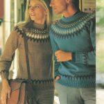 Fairisle Knitting Patterns Free Stylish Patons Fair Isle Knitting Patterns The Vintage Pattern Files