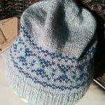 Fairisle Knitting Patterns Free The Destashification Fair Isle Slouch Hat The Destashification Project