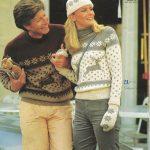 Fairisle Knitting Patterns Free The Vintage Pattern Files 1980s Knitting Patons No 671 Fair Isle