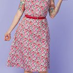Gertie Sewing Vintage Casual Floral Day Dress Free Pattern Tutorial Sew Mama Sew
