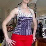 Gertie Sewing Vintage Casual Gertie Sews Vintage Casual Halter Top Mrs Beckinsale