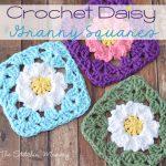 Granny Square Crochet Pattern Crochet Daisy Granny Squares The Stitchin Mommy