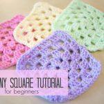 Granny Square Crochet Pattern Crochet How To Crochet A Granny Square For Beginners Bella Coco