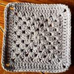 Granny Square Crochet Pattern Crochet Motif Plain Granny Square Cypresstextiles