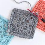Granny Square Crochet Pattern Easy Granny Square Crochet Pattern