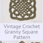 Granny Square Crochet Pattern Eivors Crochet Granny Square Pattern