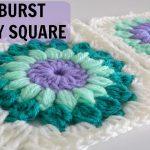 Granny Square Crochet Pattern How To Crochet A Starburst Granny Square Youtube