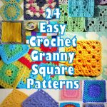Granny Square Crochet Pattern Its So Easy 46 Easy Crochet Granny Square Patterns Crochet