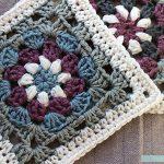 Granny Square Crochet Pattern Lily Pad Granny Square Free Crochet Pattern Tutorial Pasta