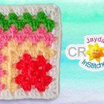 Granny Square Crochet Pattern Mitered Granny Square Crochet Pattern Youtube