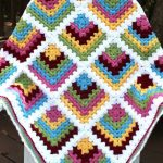 Granny Square Crochet Pattern Mitred Crochet Blanket Granny Square Free Crochet Pattern Your