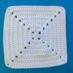 Granny Square Crochet Pattern Solid Crochet Granny Square Pattern Kerris Crochet