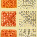 Granny Square Crochet Pattern Solid Granny Square Google Search Crochet Ideaspatterns