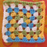 Granny Square Crochet Pattern Spiral Granny Square Free Pattern Crochet Squares Love