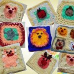 Granny Square Crochet Pattern Sweet Nothings Crochet Really Cute Animal Granny Squares