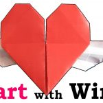 How To Make An Origami Heart How To Fold An Origami Heart With Wings Origami Wonderhowto