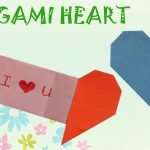 How To Make An Origami Heart Origami Heart With Message Origami Easy Youtube