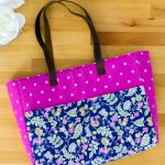 Interfacing Sewing Free Pattern Strappy Bag With Pockets Easy Diy Sewing Tutorial Sewcanshe