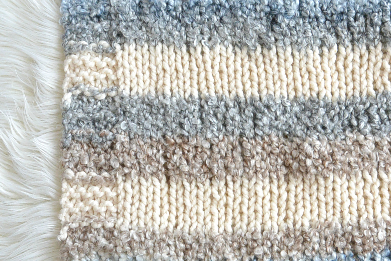 Knit Blanket Pattern Cuddly Quick Knit Throw Blanket Pattern Mama In A Stitch