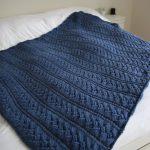 Knit Blanket Pattern Easy Afghan Knitting Patterns In The Loop Knitting