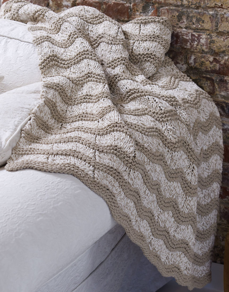 Knit Blanket Pattern Easy Afghan Knitting Patterns In The Loop Knitting