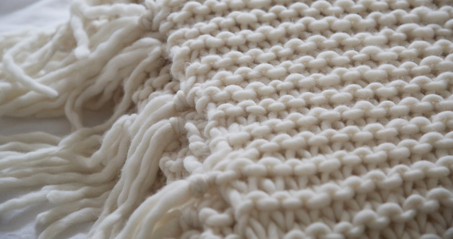 Knit Blanket Pattern How To Knit A Blanket Wool And The Gang Blog Free Knitting Kit