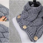 Knit Leaf Pattern Free Crochet Leaf Stitch Cowl Free Pattern Yarn Hooks