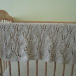 Knit Leaf Pattern Free Free Pattern Knit Leaf Ba Blanket Knit Crochet My