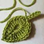 Knit Leaf Pattern Free Lakeview Cottage Kids One Green Leaf Free Crochet Leaf