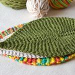 Knit Leaf Pattern Free Leafy Knitting Free Pattern