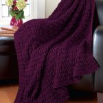 Knit Leaf Pattern Free Mary Maxim Free Blanket Of Leaves Afghan Pattern