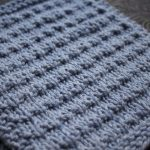 Knit Washcloth Pattern Free Easy Andalutheean Knitted Dishcloth