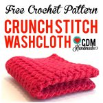 Knit Washcloth Pattern Free Easy Check Out This Quick And Easy Free Crochet Washcloth Pattern For My