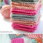 Knit Washcloth Pattern Free Easy Crochet Dishcloth Patternto Beautify Your Kitchen Free Crochet