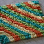 Knit Washcloth Pattern Free Easy Dish Cloth Knitting Pattern The Sweatshop Of Love Blog