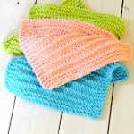 Knit Washcloth Pattern Free Easy Farmhouse Kitchen Knitted Dishcloths Just Be Crafty
