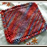 Knit Washcloth Pattern Free Easy How To Knit A Dishcloth