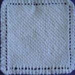 Knit Washcloth Pattern Free Easy The Old Time Favorite Dish Cloth Craftsy