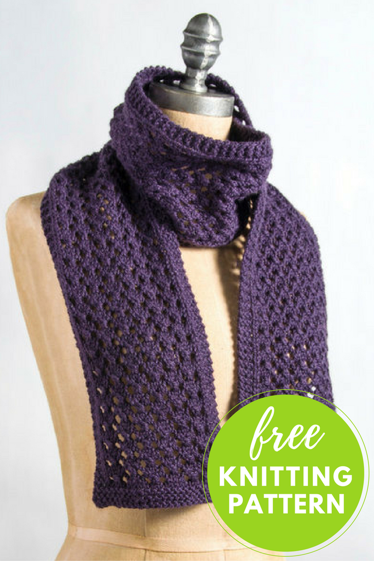 Knitting Patterns Easy Free Extra Quick And Easy Scarf Free Knitting Pattern Blognobleknits