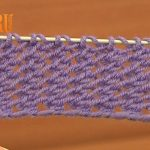 Knitting Patterns Easy Ones Easy To Knit Mesh Stitch Pattern Tutorial 18 Beginner Level Knitted