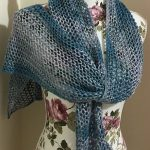 Knitting Patterns Easy Ones Free Knitting Pattern For One Row Repeat Lace Scarf Easy Openwork