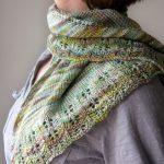 Knitting Patterns Easy Ones Free Knitting Pattern Oaklet Shawl Tricksy Knitter Megan Goodacre