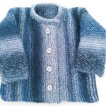 Knitting Patterns Easy Ones Knitting Pattern Garter Stitch Ba Cardigan One Piece Ba