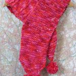 Knitting Patterns Easy Scarf Knit A Fabulous Pompom Scarf Easy Pattern To Download Buttonbag