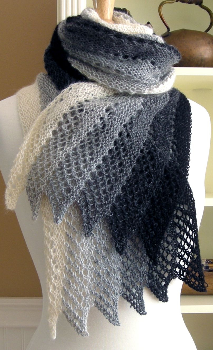 Knitting Patterns Easy Scarf Knitting Pattern For Mistral Scarf Chicks With Sticks Pinterest