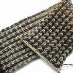 Knitting Patterns Easy Scarf The Wool Nest Bracken Mens Scarf Free Knitting Pattern And