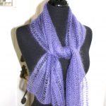 Mohair Knitting Patterns Shawl Absolute Knits Rowans Kidsilk Haze Free Lace Scarf Pattern
