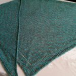 Mohair Knitting Patterns Shawl Diana Natters On About Machine Knitting Mid Gauge Shawl Finished
