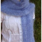 Mohair Knitting Patterns Shawl Pin Dawn Cattermole On Now Pinterest Knitting Crochet And